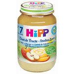 HIPP Био Бебешки/плодов дует ябълка, манго и извара/7м+ 160 гр.